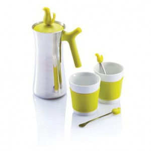 BIRD kafetiera 350ml + 2 kubki 150ml