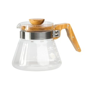 Hario Coffee Server 600ml - Olive Wood - New